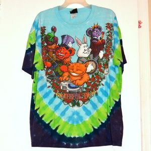 Grateful Dead Wonderland Band Tee XL